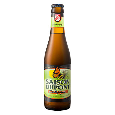 5410702000836 Saison Dupont Bio - 33cl Bottle conditioned organic beer (control BE-BIO-01)